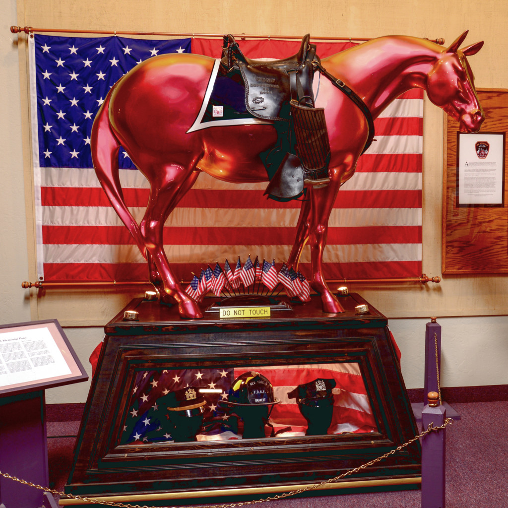 911 Memorial Pony at Fire Museum