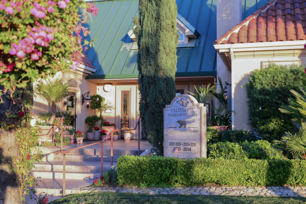 Front Entrance to Winery