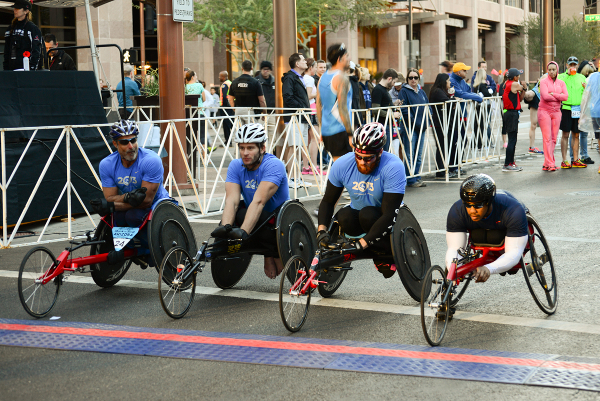 Wheel Chairs at Start   X600-5335