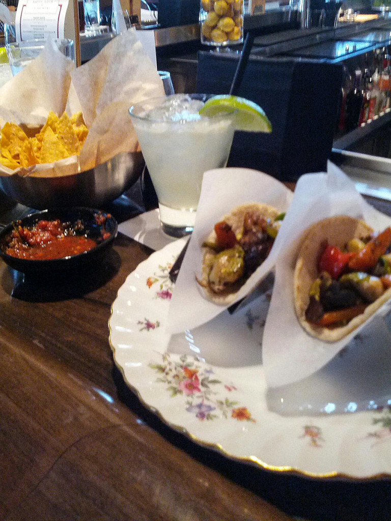 Chips Drink Tacos Taco Guild Phoenix