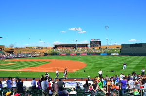 Salt River Field Scottsdale AZ Ron Elledge