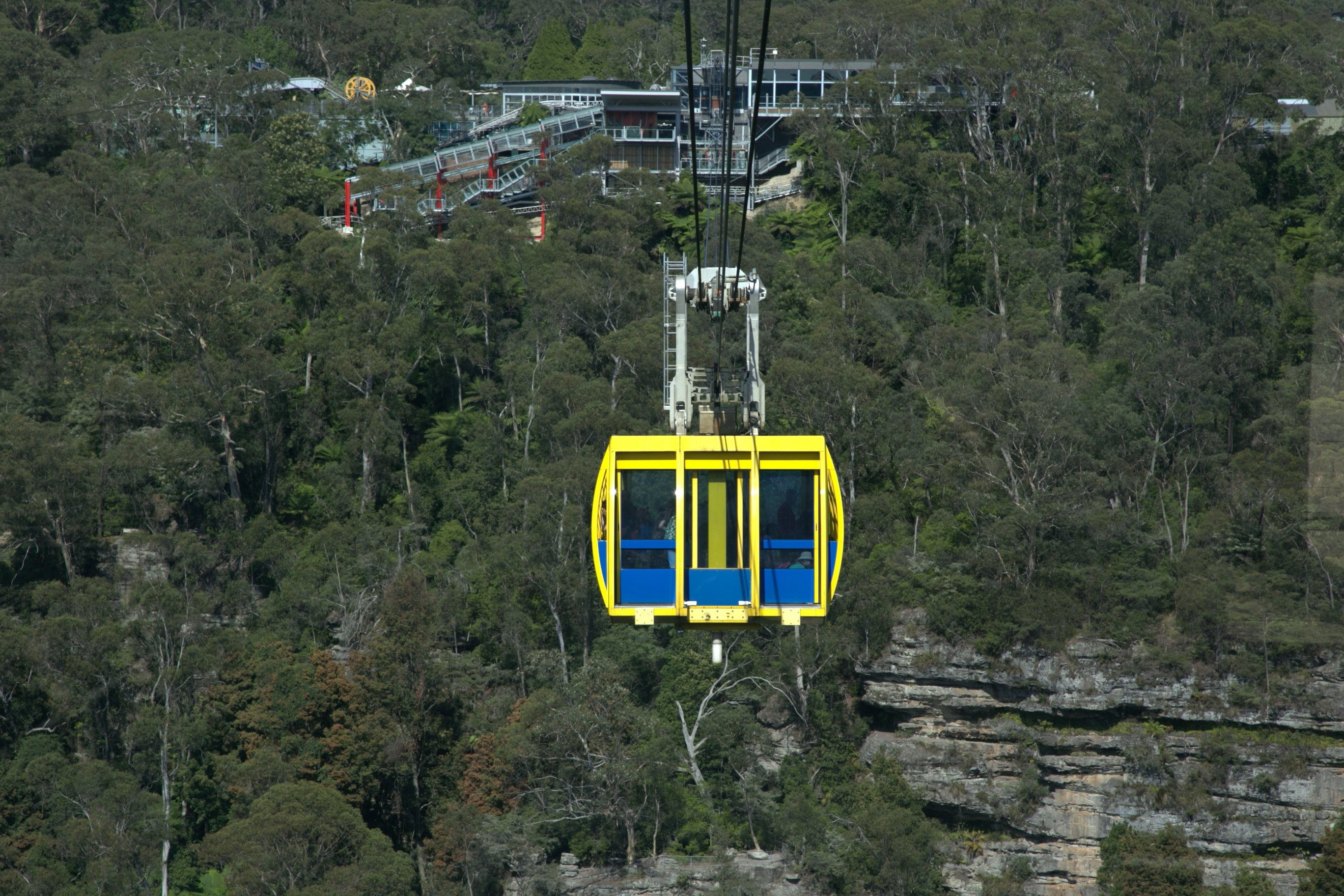 Gondola to Train Station Blue Mountains Australia