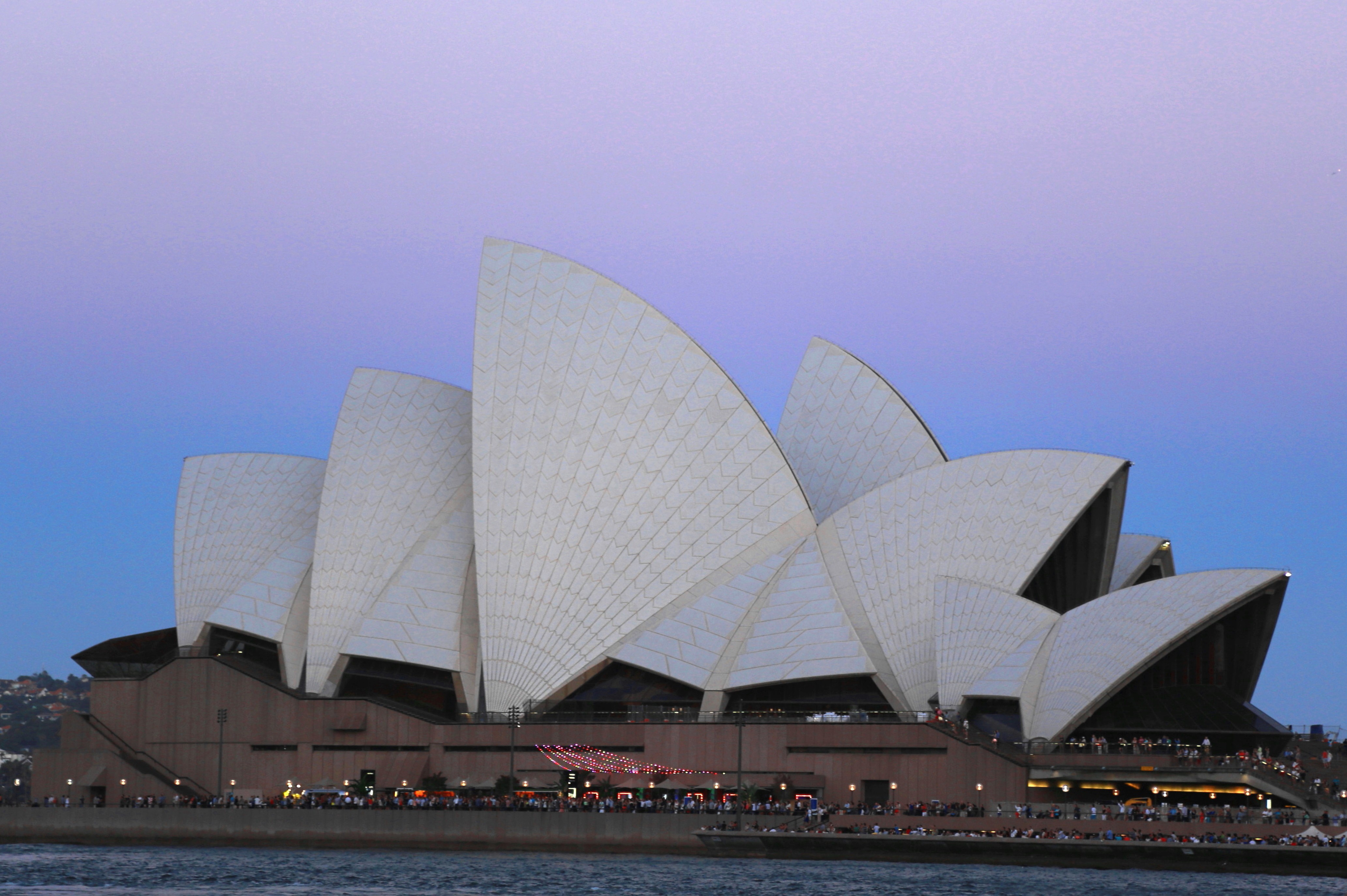 Sydney Opra House Purple Sky