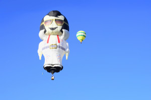Elvis at the Balloon Fiesta in Albuquerque NM