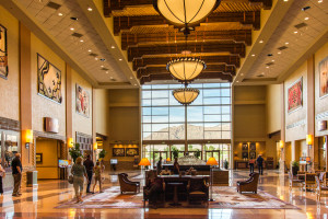 Lobby at Sandia Resort in Albuquerque, NM