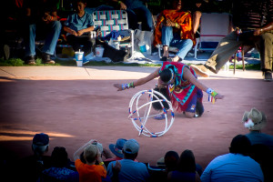 Hoop Dancing Championship at The Heard Museum
