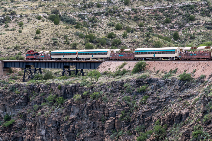 Riding the Verde Canyon Railroad